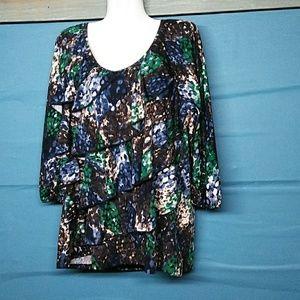 Allie& rob ladies plus size blouse